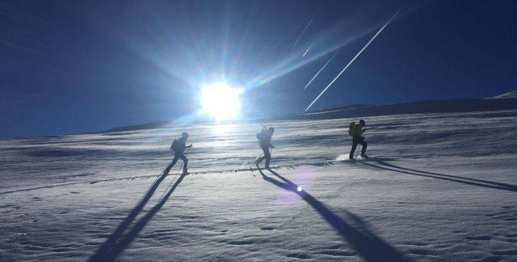 Esquí de travesía en el Valle de Benasque